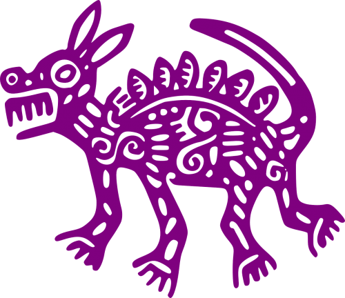 mexican ancient coyote