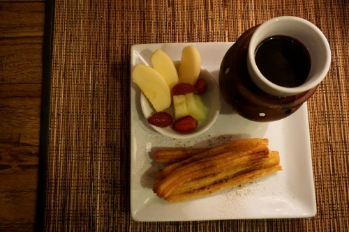 mexican breakfast mexican coffee home made churros