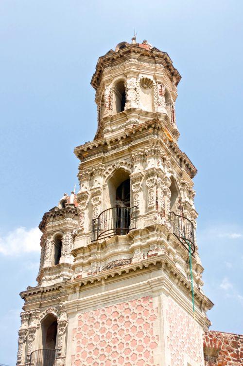 Mexican Catholic Church Spire