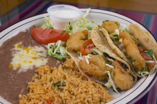 mexican food shrimps cuisine