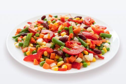 mexican mix vegetables salad