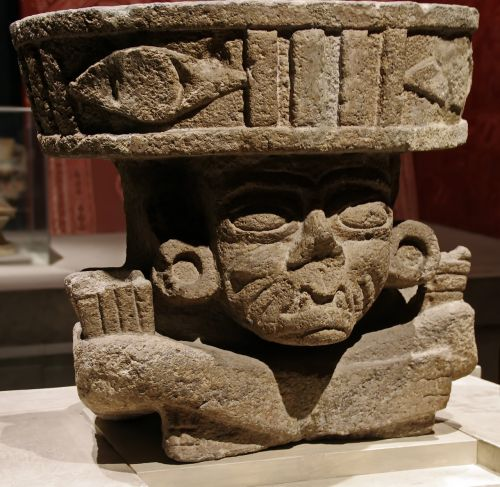 mexico anthropological museum statue