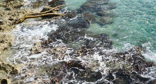 mexico caribbean rocks