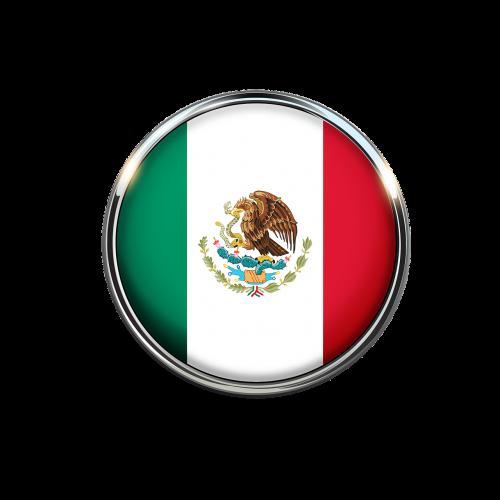 mexico flag circle