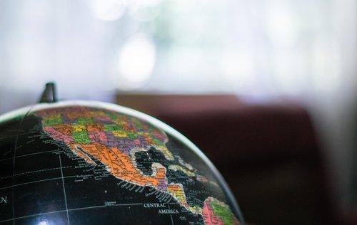 mexico  globe  map