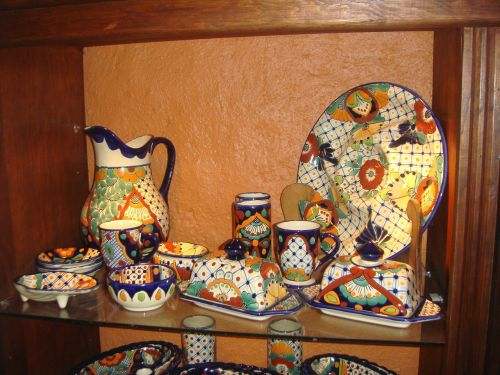 mexico tableware pattern