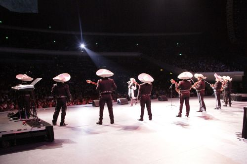 mexico city auditorium concert