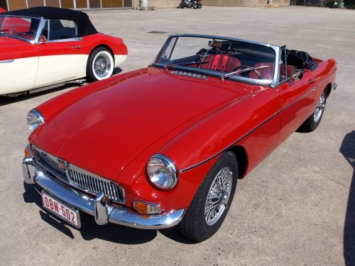 mg b roadster classic car oldtimer