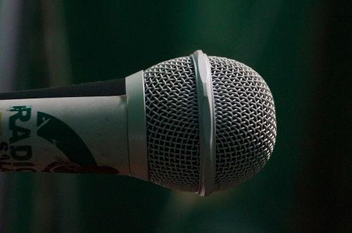mic close photo radio