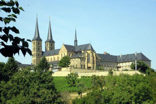 michel mountain monastery bamberg