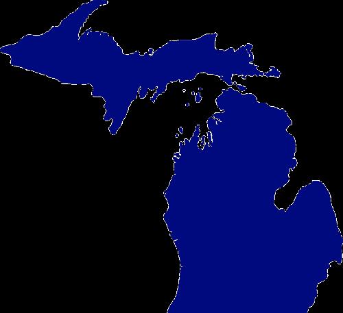 michigan map state