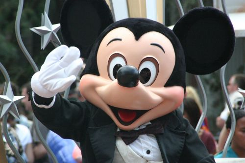 mickey mouse walt disney parade