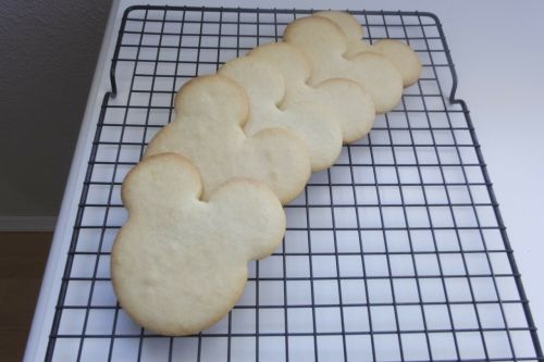 mickey mouse cookie cookie baking