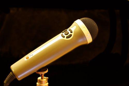 micro microphone recording