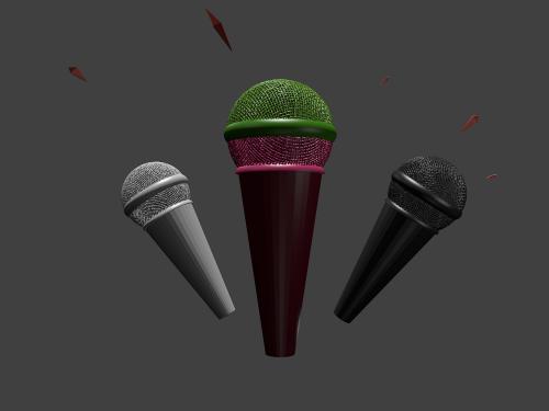 micro phone mic 3d mic