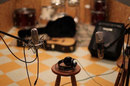 microphone music studio