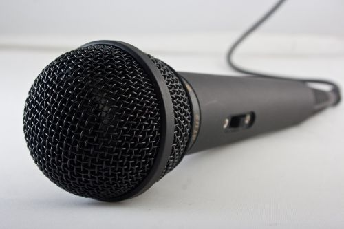 microphone music sing