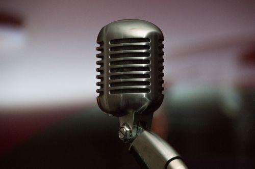 microphone singing music