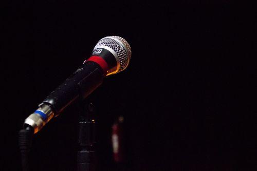 microphone corner stage