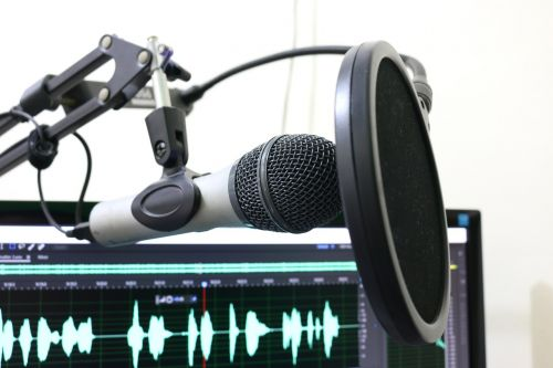 microphone podcast pop filter