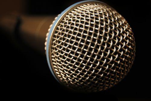 microphone record speak