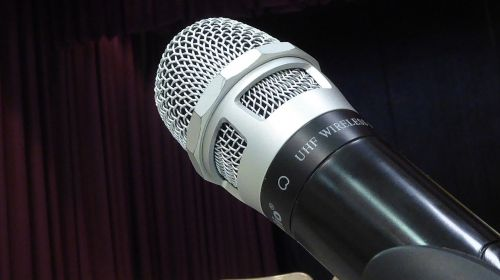 microphone mic isolated