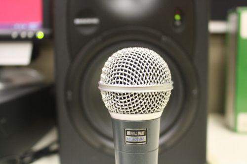 microphone speaker music