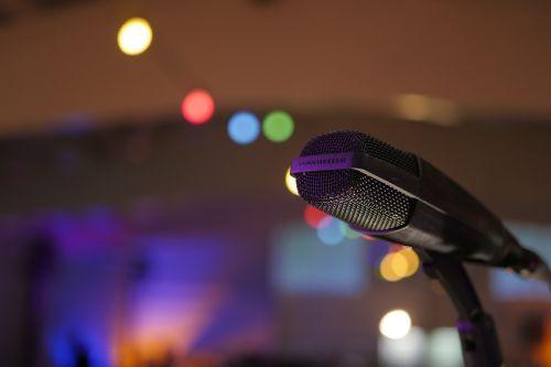 microphone garland concert