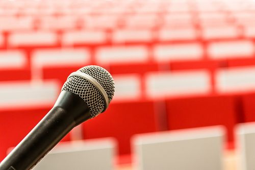 microphone it lecture