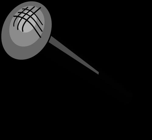 microphone black cartoon