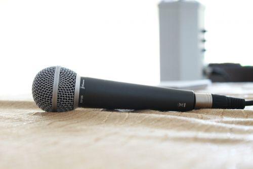 microphone sound studio recording