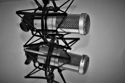 microphone  studio  voice