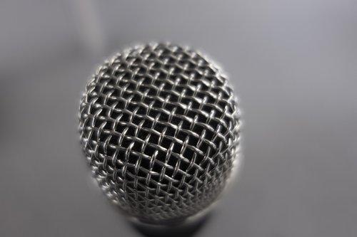 microphone  music  talk