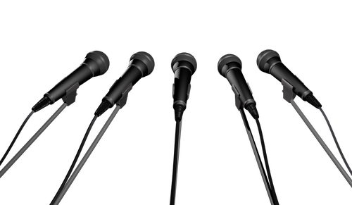 microphone  microphones  a number of
