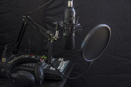 microphone headphone headset
