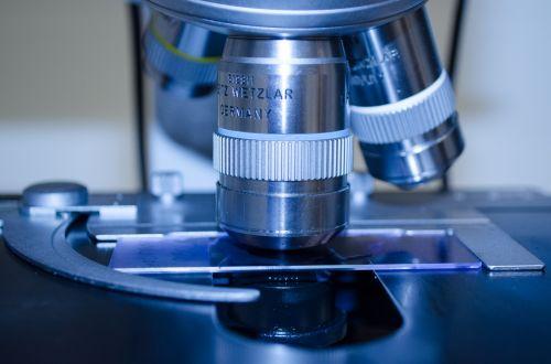 Microscope In A Laboratory