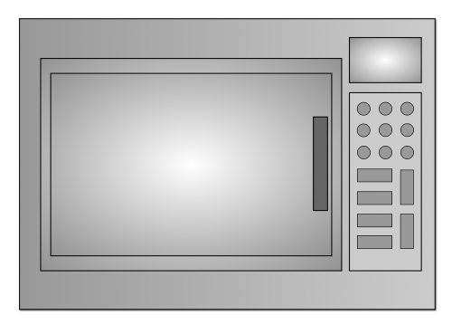 microwave kitchen cook