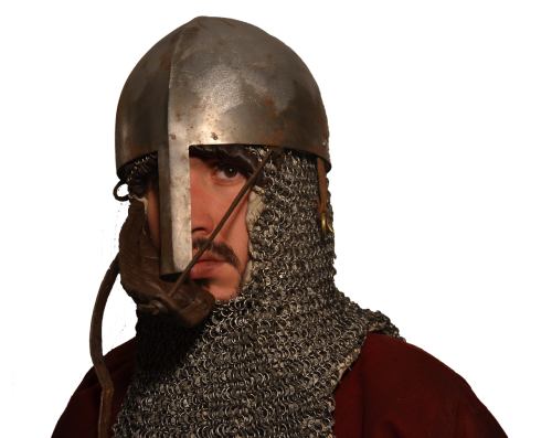 middle ages elmo mail armor