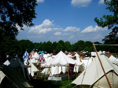 middle ages tents event