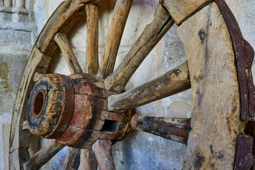 middle ages wheel dare