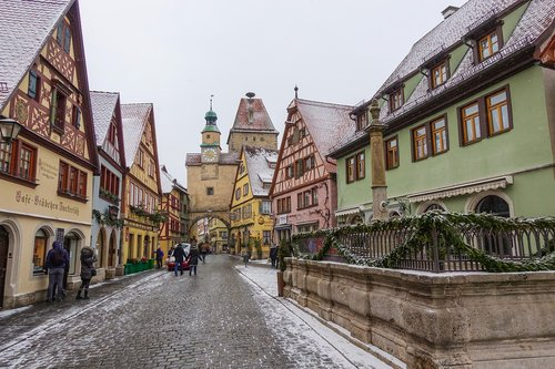 middle ages  historic center  historically
