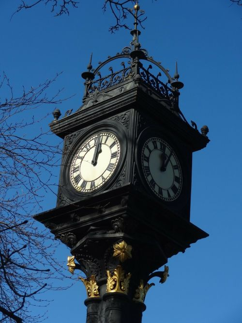 middlesbrough park clock