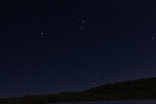 midnight sky dark