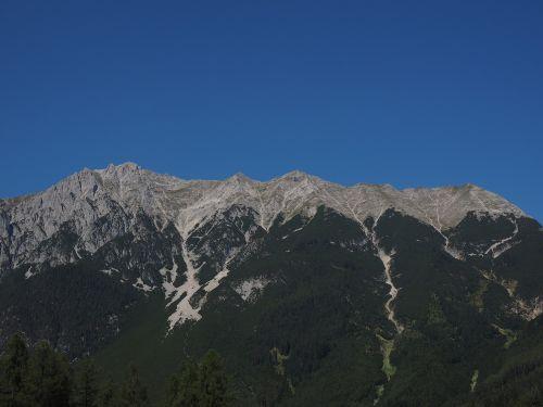 mieminger chain mountain range mountains
