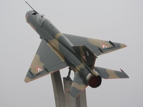 mig-21 fighter aircraft old