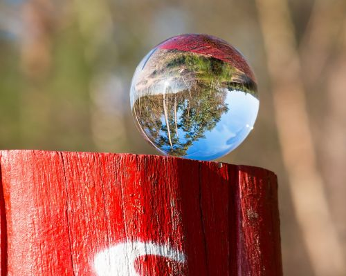 migratory character victory trail glass ball