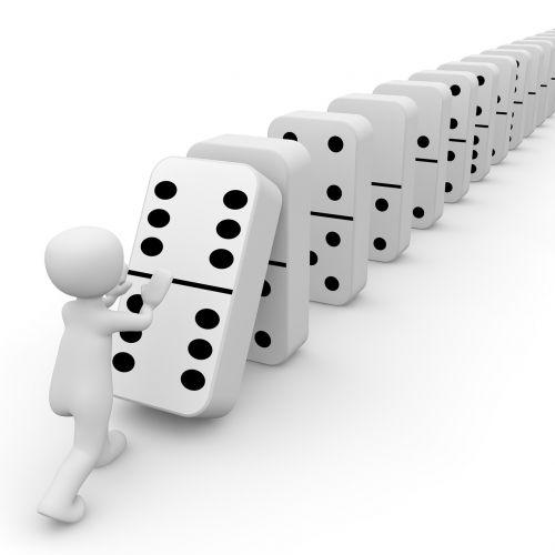 mikado domino stones