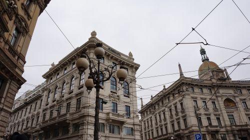 milan architecture city