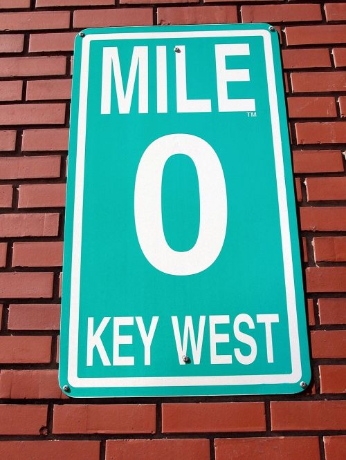 mile marker zero sign key west