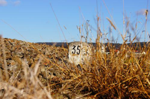 milestone landmark mileage